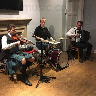 The SH Ceilidh Band in County Durham