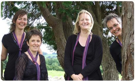 The Juno Quartet in Shropshire