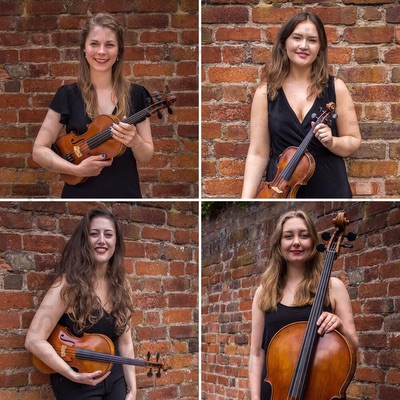 The Aritimi String Quartet in Cumbria