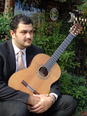 Classical Guitarist - Justin in Shropshire