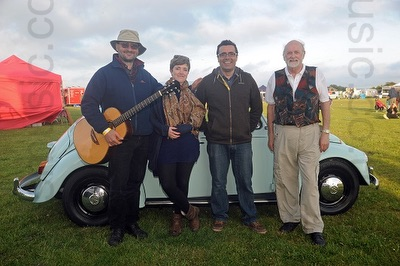 The WD Barn Dance Band in Buckinghamshire