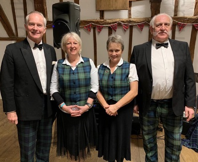 The CV Scottish Ceilidh Band in Northamptonshire